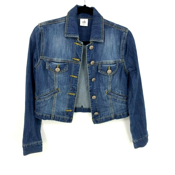 CAbi Jackets & Blazers - Cabi Cropped Denim Dakota Jean Jacket NO LACE 5297